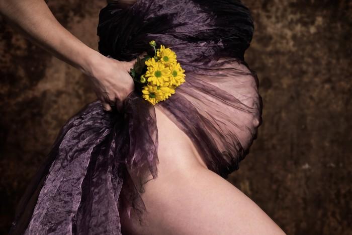 Těhotenské foto - Tomáš Winkelhöfer